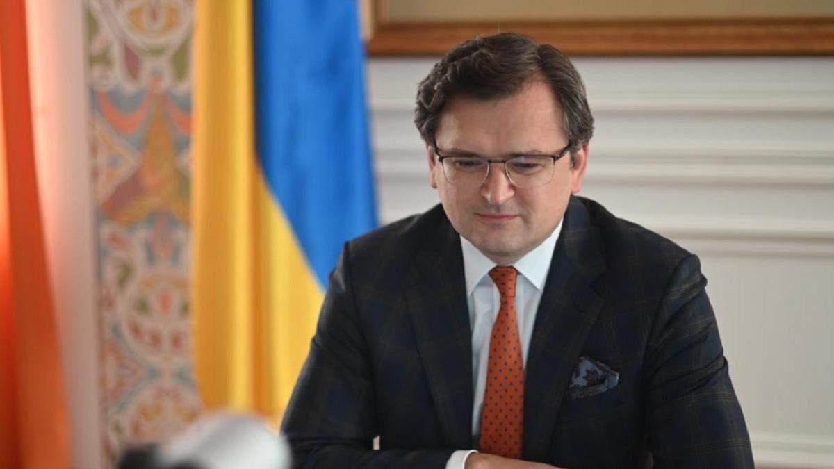 Кулеба закликав ЄС ввести секторальні санкції проти Росії