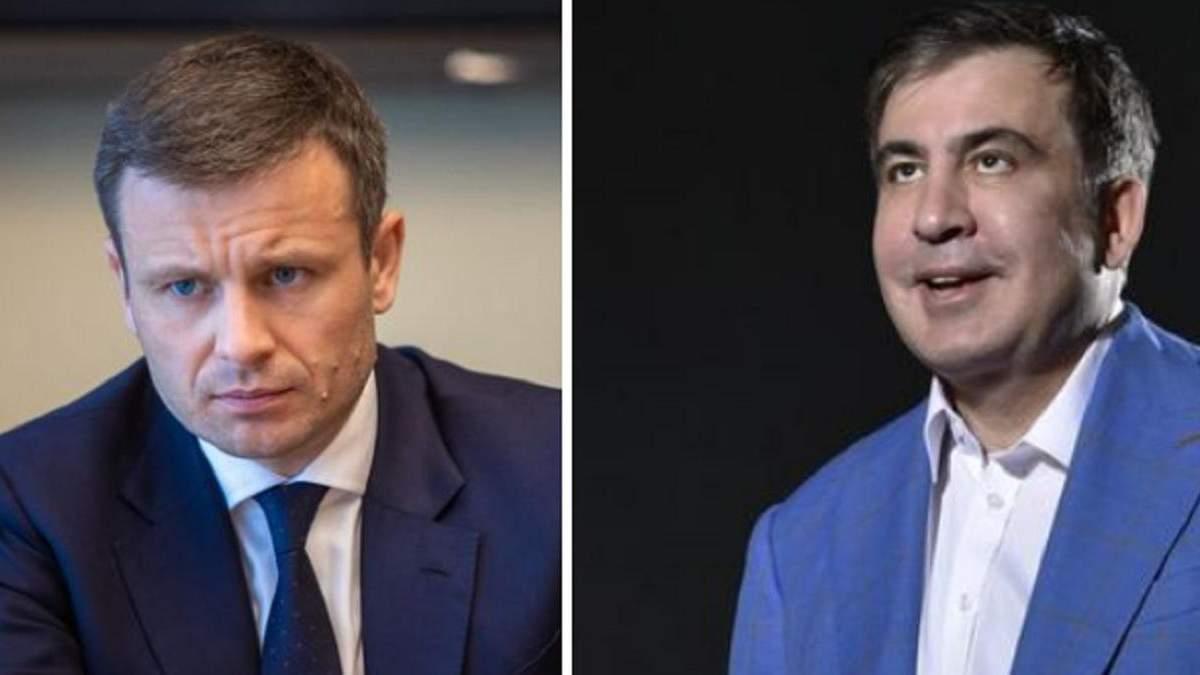 Шулер і нікчема: Марченко та Саакашвілі обмінялися образами