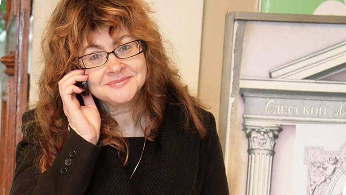 В Одессе умерла сценаристка Городка Ирина Полторак: болела COVID-19