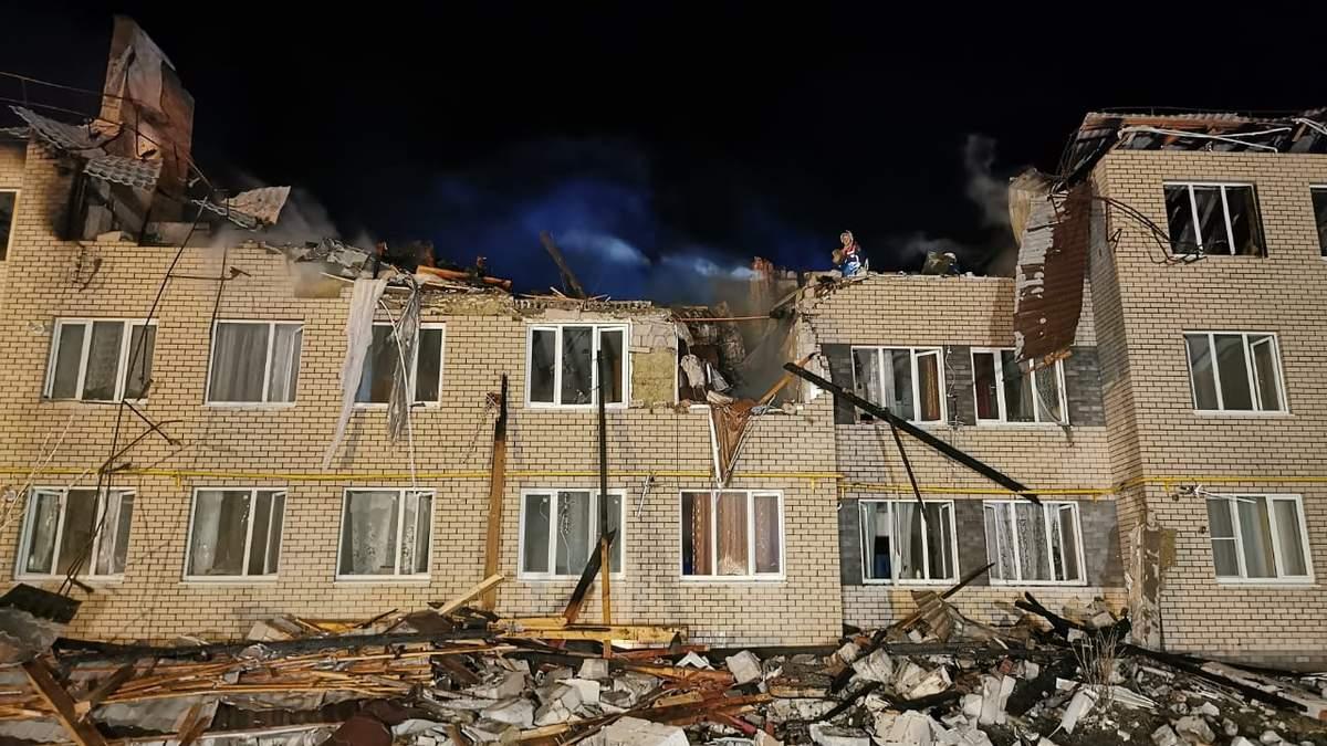 У житловому будинку в Росії стався страшний вибух