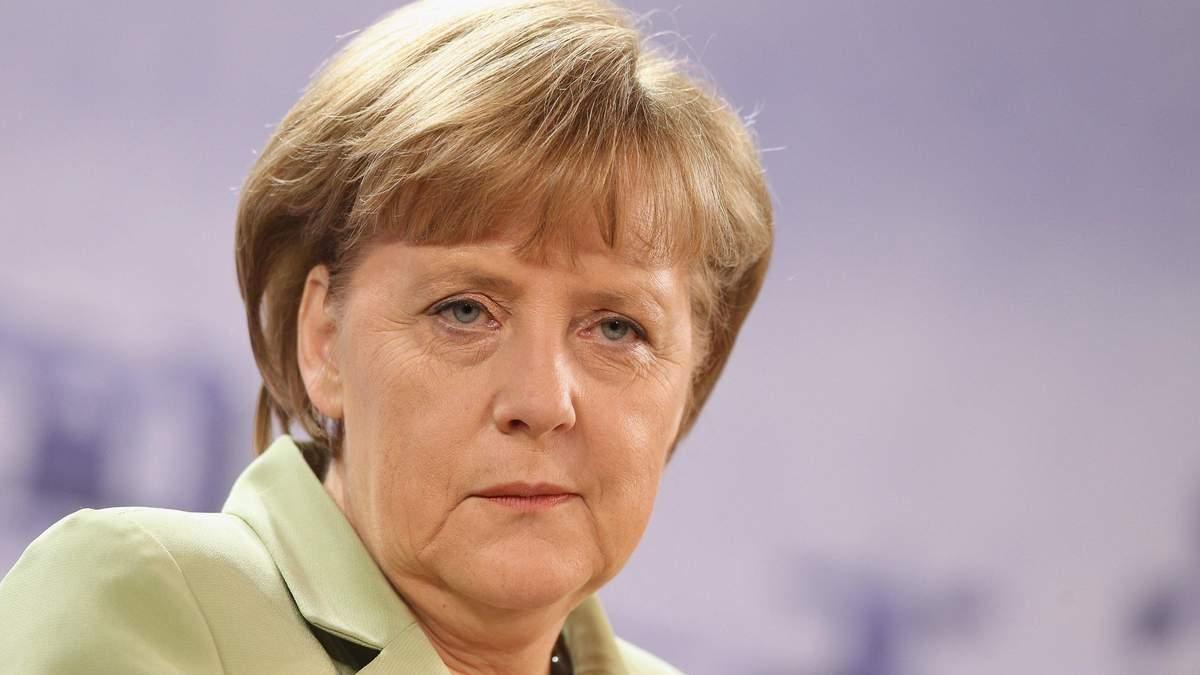 Меркель прокоментувала можливість зупинки Північного потоку-2