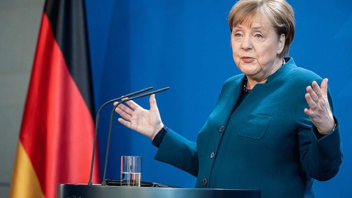 Ситуация на Донбассе и в Крыму более чем тревожная, – Меркель