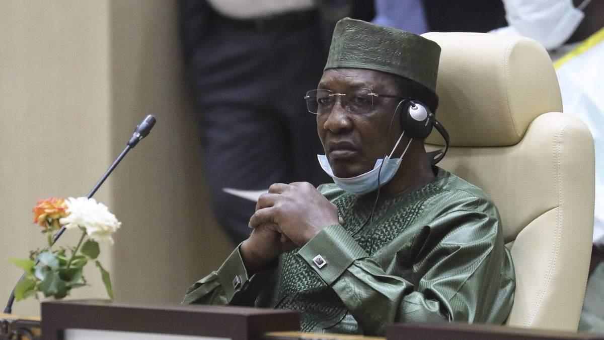 Президента Чаду Ідріса Дебі вбили повстанці 20 квітня 2021