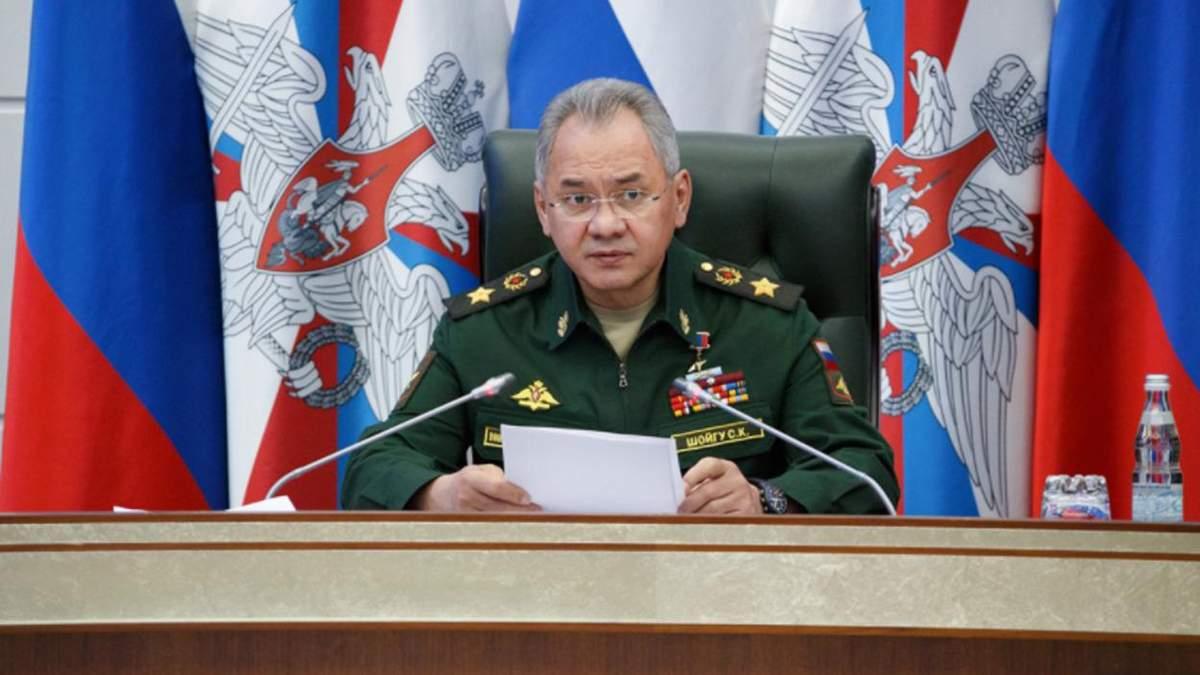 Шойгу о причине наращивания войска у границы Украины