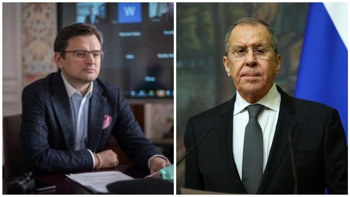 Кулеба хотел говорить с Лавровым: ему посоветовали звонить на Донбасс