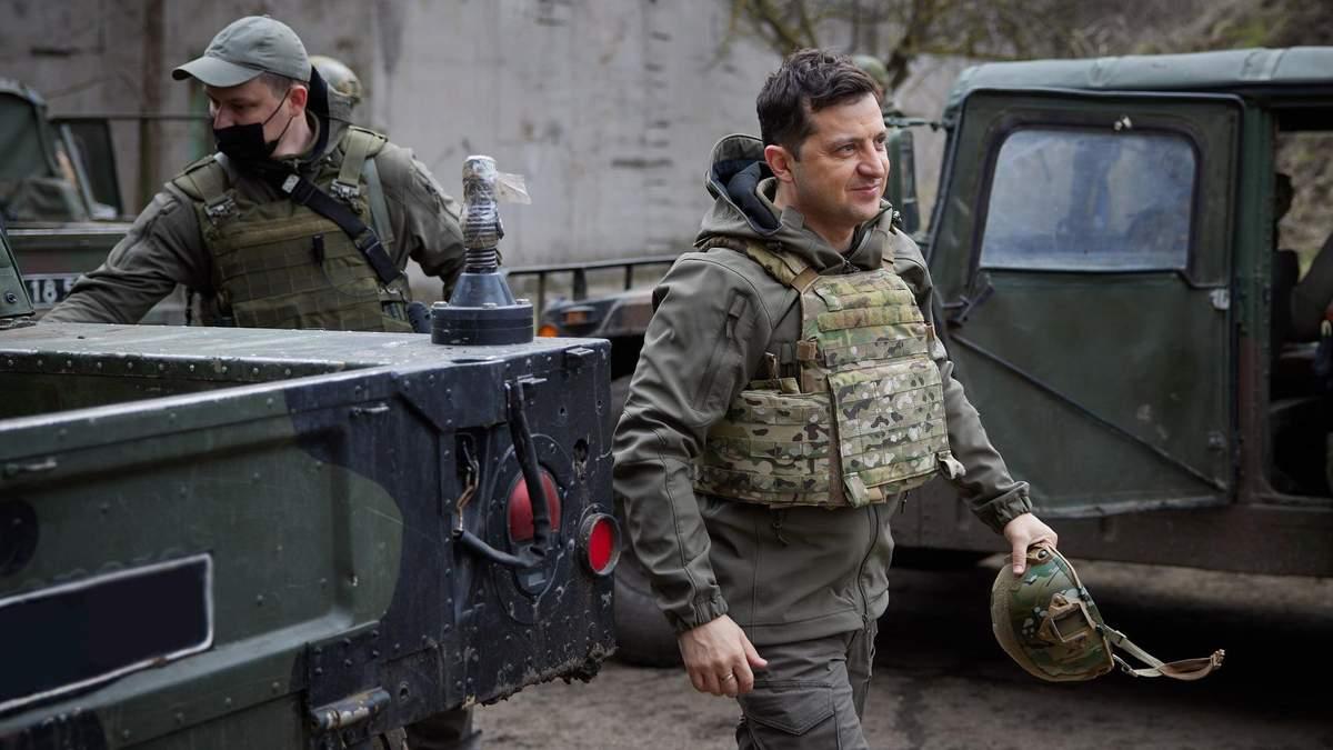 Это - шантаж, - Зеленский об эскалации России на украинской границе