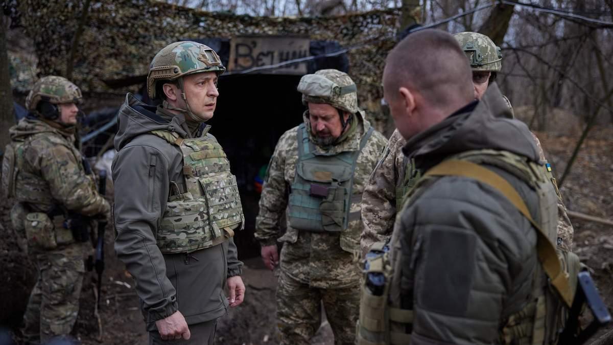 Зеленский заявил, что Украина не хочет войны, но готова к ней