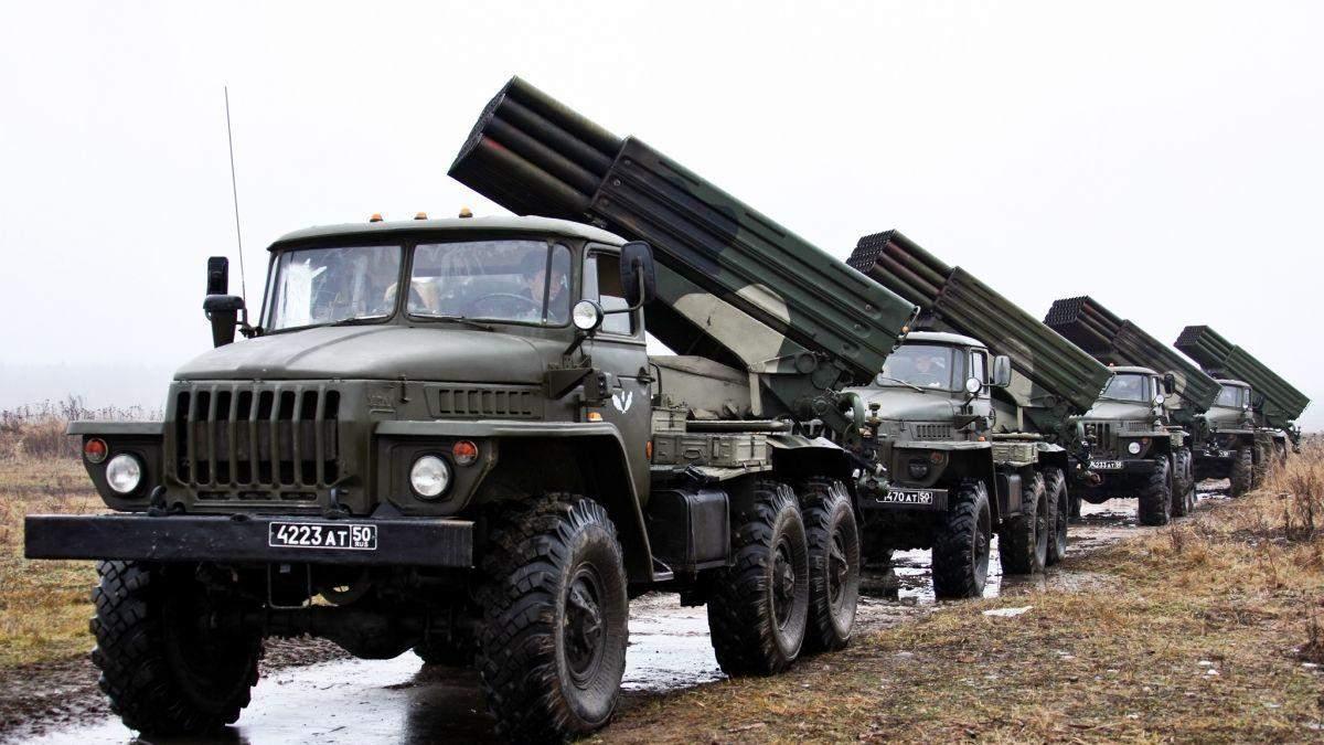 ОБСЕ: боевики стянули Грады и гаубицы на Луганщину