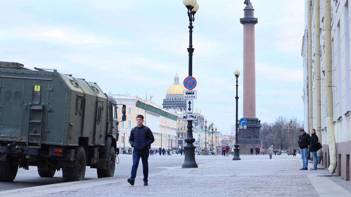 Кремль готується до протестів через Навального: фото