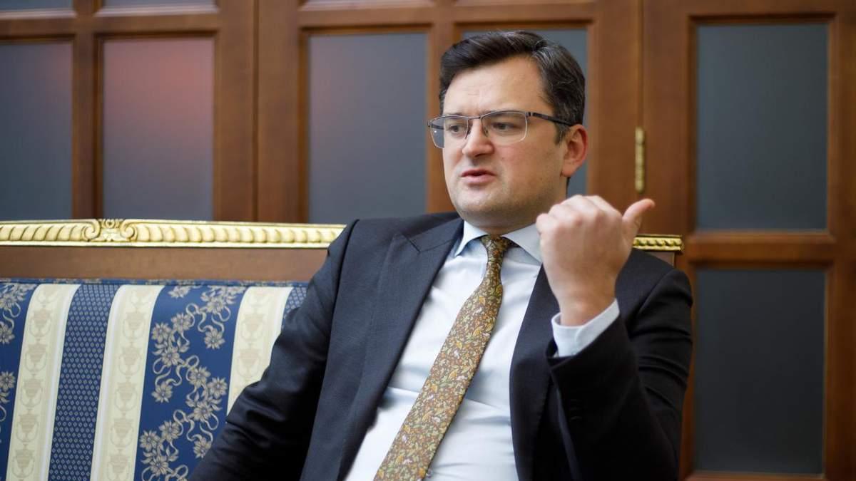 Кулеба застеріг від наративу про Росію як фортецю, оточену НАТО