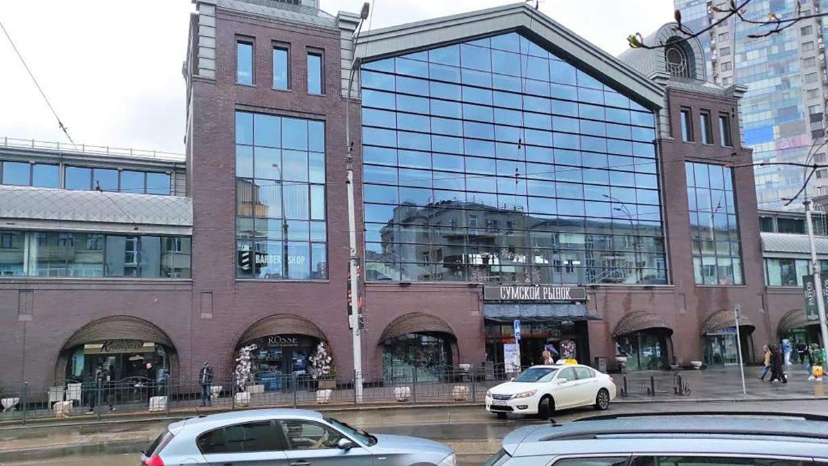 На Сумском рынке в центре Харькова искали взрывчатку: эвакуировали несколько сотен человек