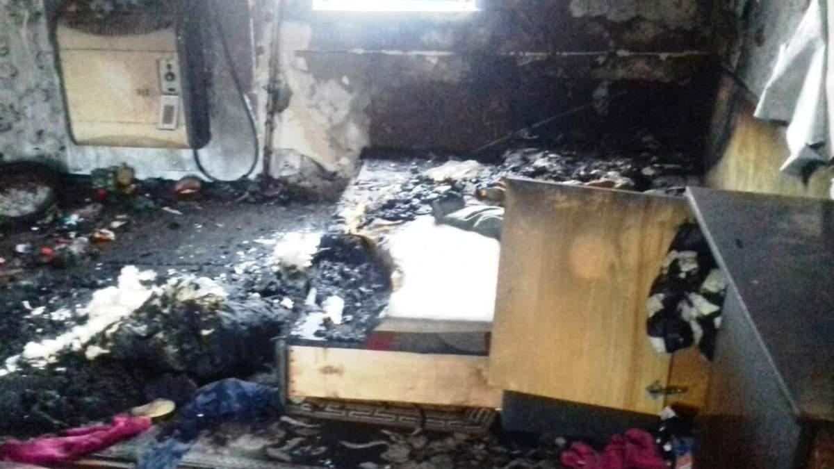 Пожар на Черниговщине: 1 ребенок погиб, второй в реанимации