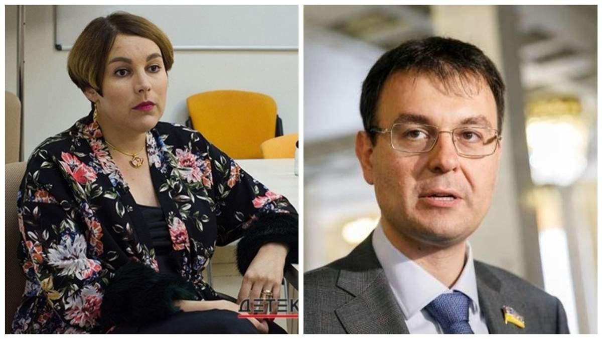 Скандал Гетманцева і журналістки Кошкіної через мінет