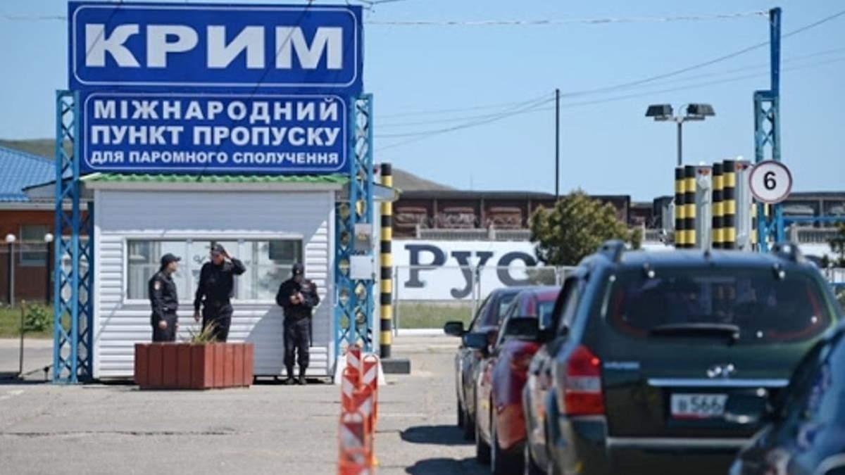 Генерал предупредил о возможности России пробить наземный путь в Крым