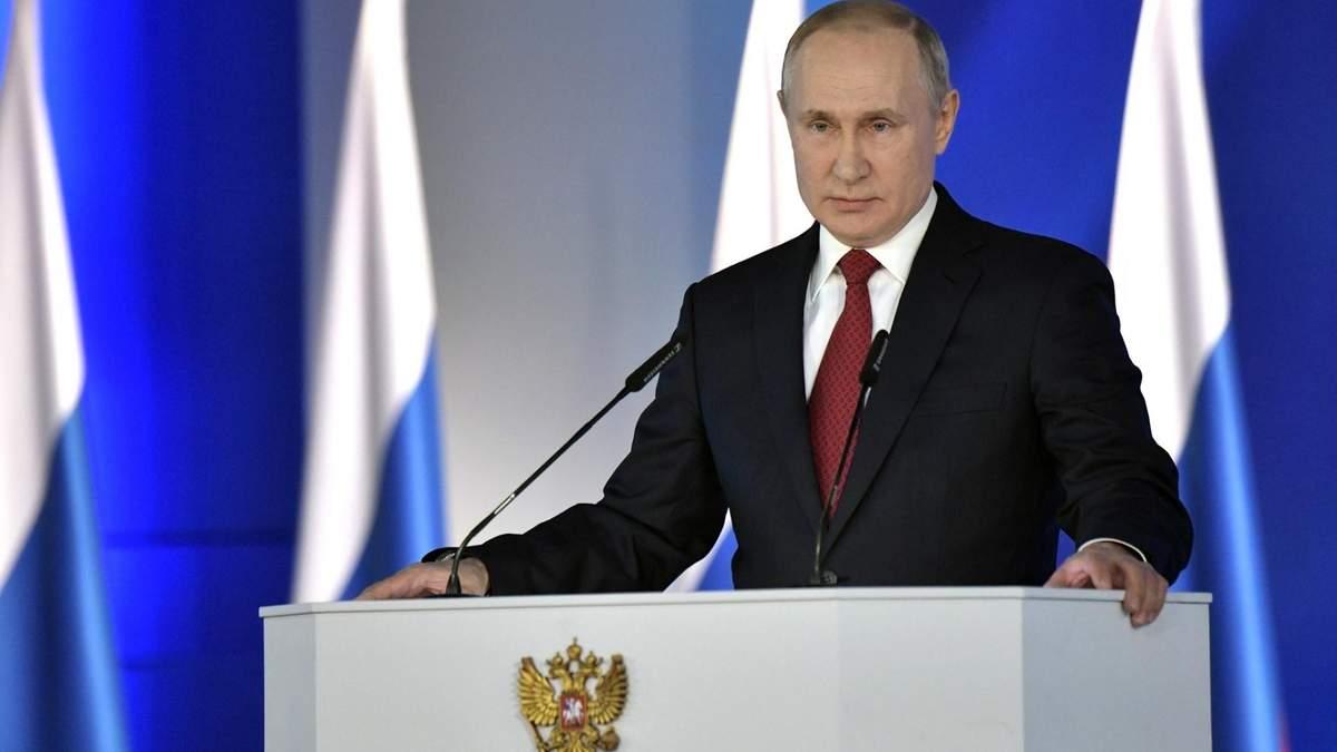 Хто перетне червону лінію, отримає відповідь Росії, – Путін