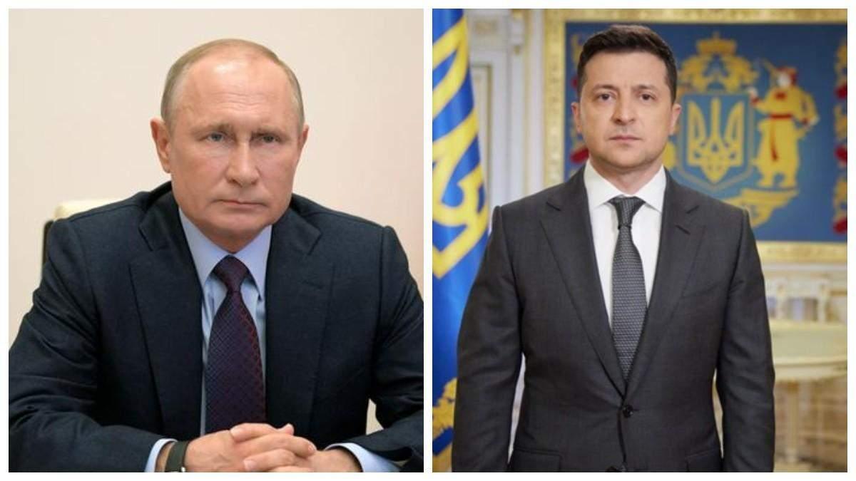 У Кремлі відреагували на пропозицію Зеленського зустрітися на Донбасі
