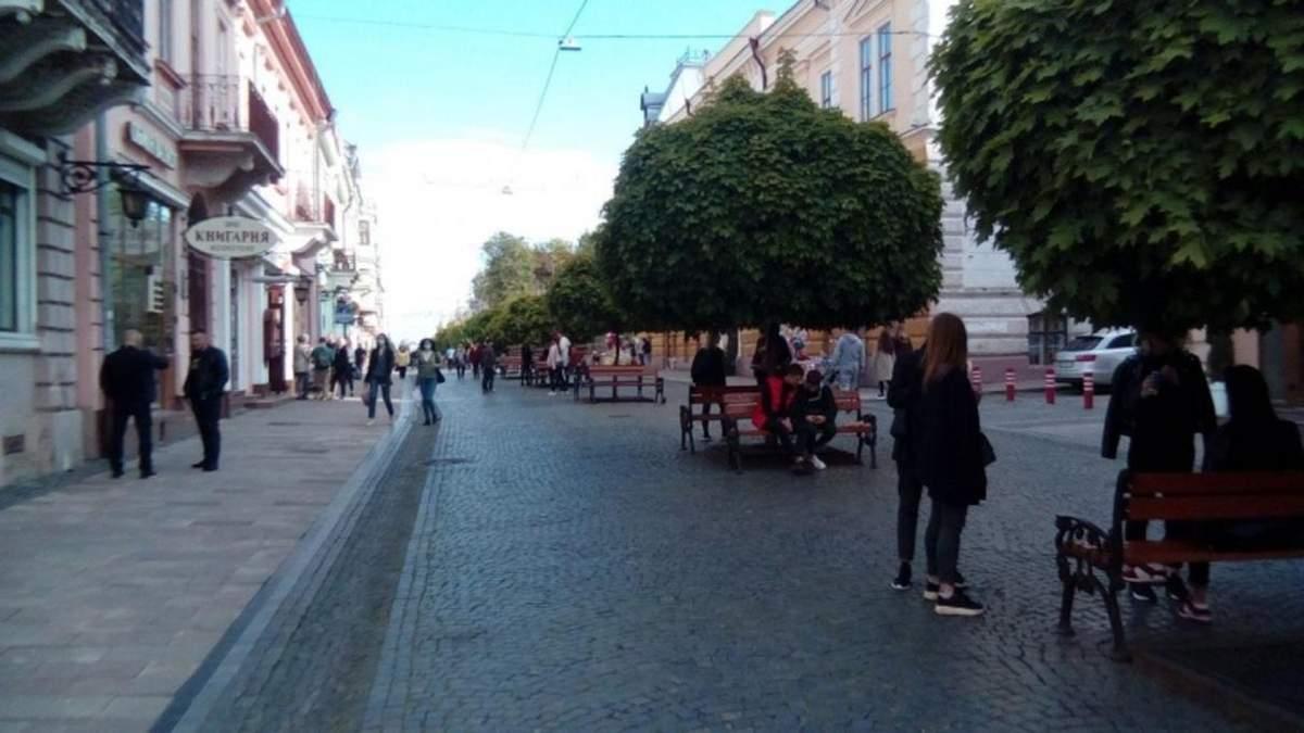 Чернівецька область виходить з червоної зони з 22 квітня 2021
