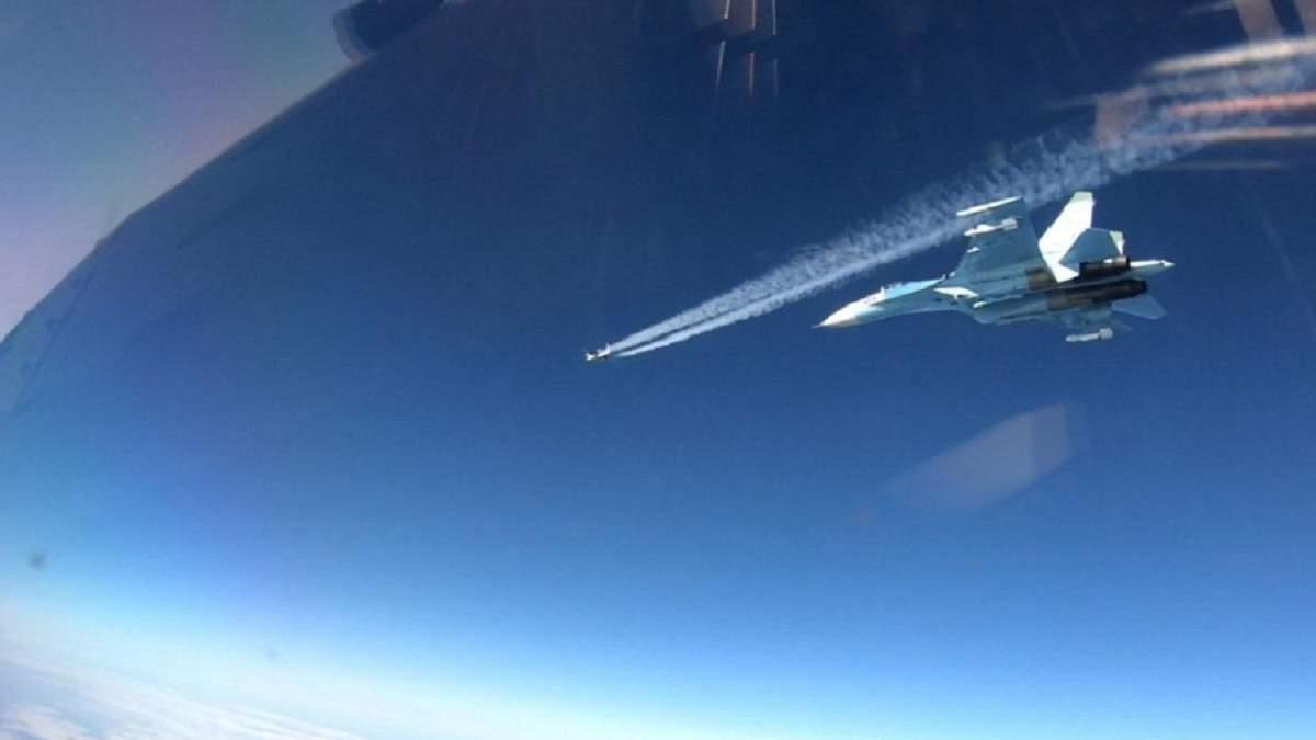 Патрули НАТО перехватили российскую авиацию над Балтийским морем