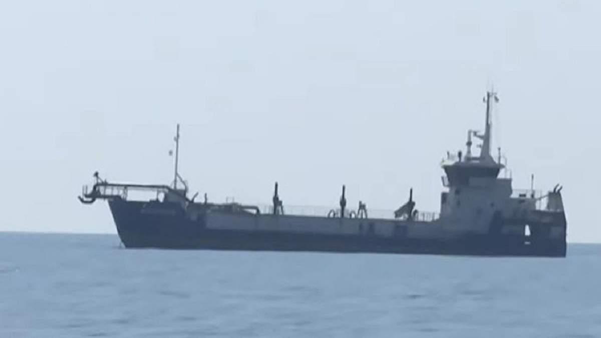 Российские пограничники задержали 2 украинских рыбаков под Очаковом