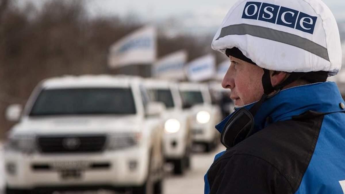 ОБСЄ виявила вагони з невідомим вантажем на окупованому кордоні