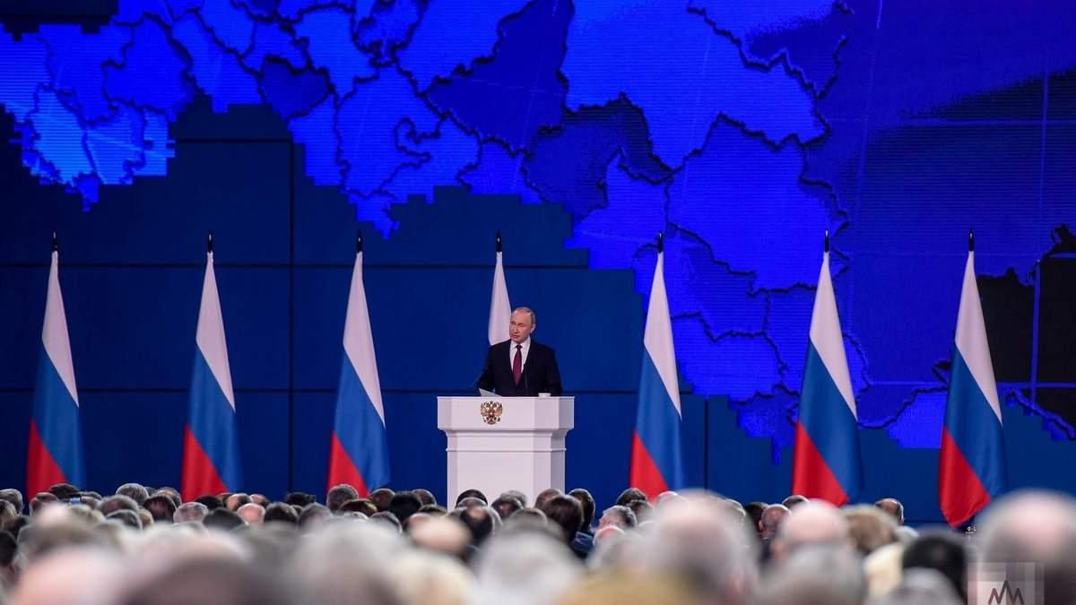 Путин не упомянул Донбасс: россияне не хотят принимать ОРДЛО в свой состав