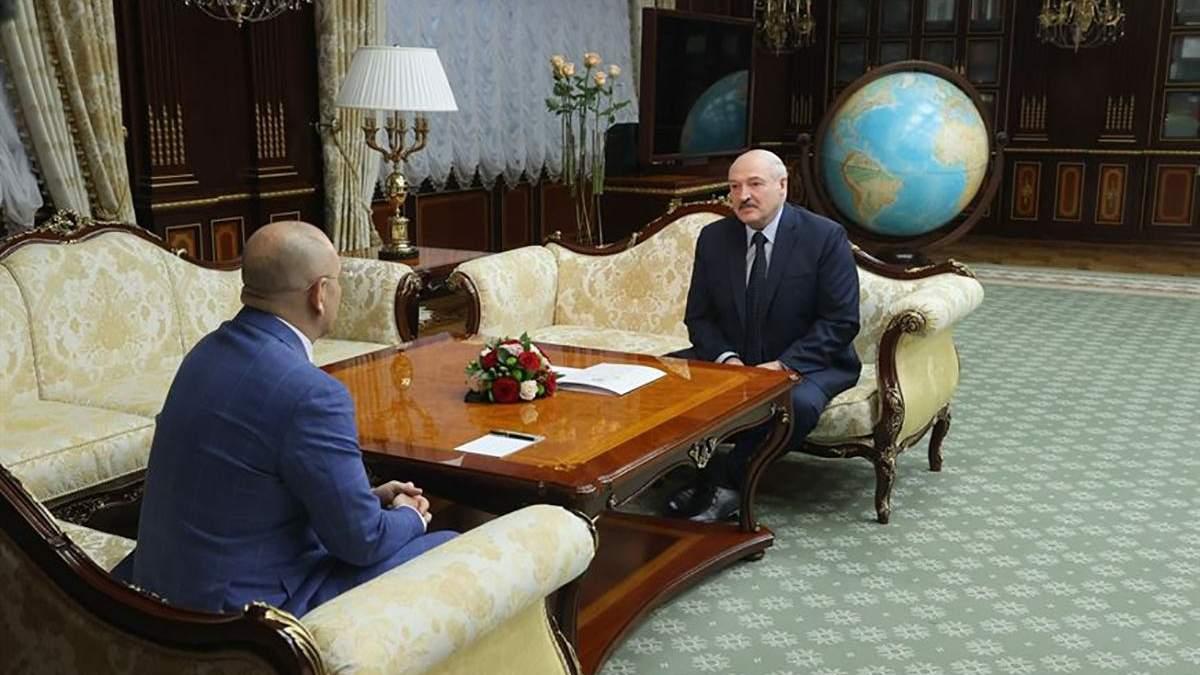 Встреча Шевченко с Лукашенко противоречит позиции Украины