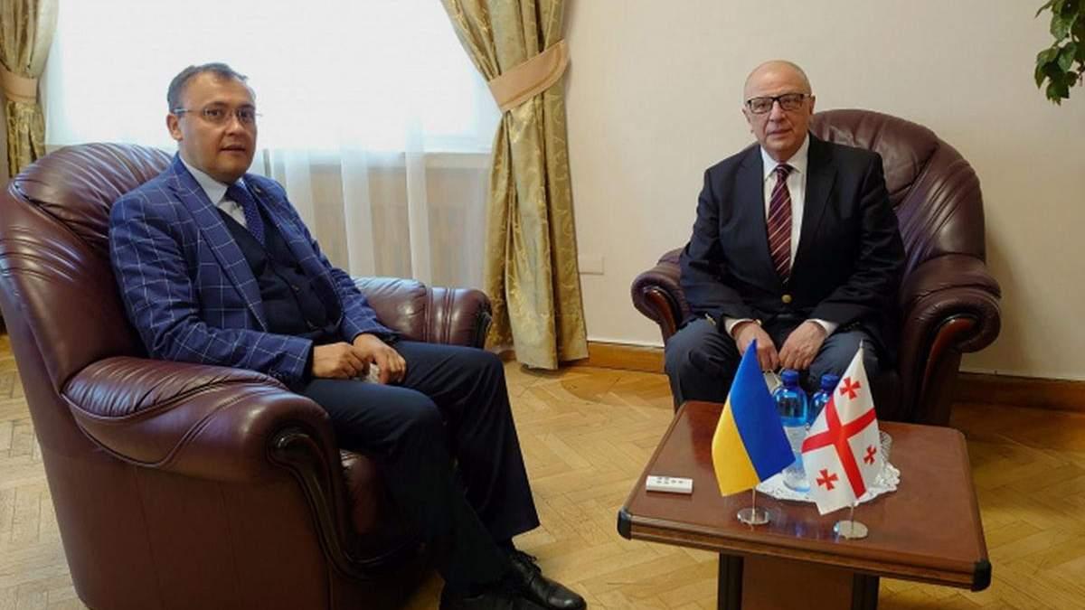 Посол Грузии Теймураз Шарашенидзе вернулся в Киев