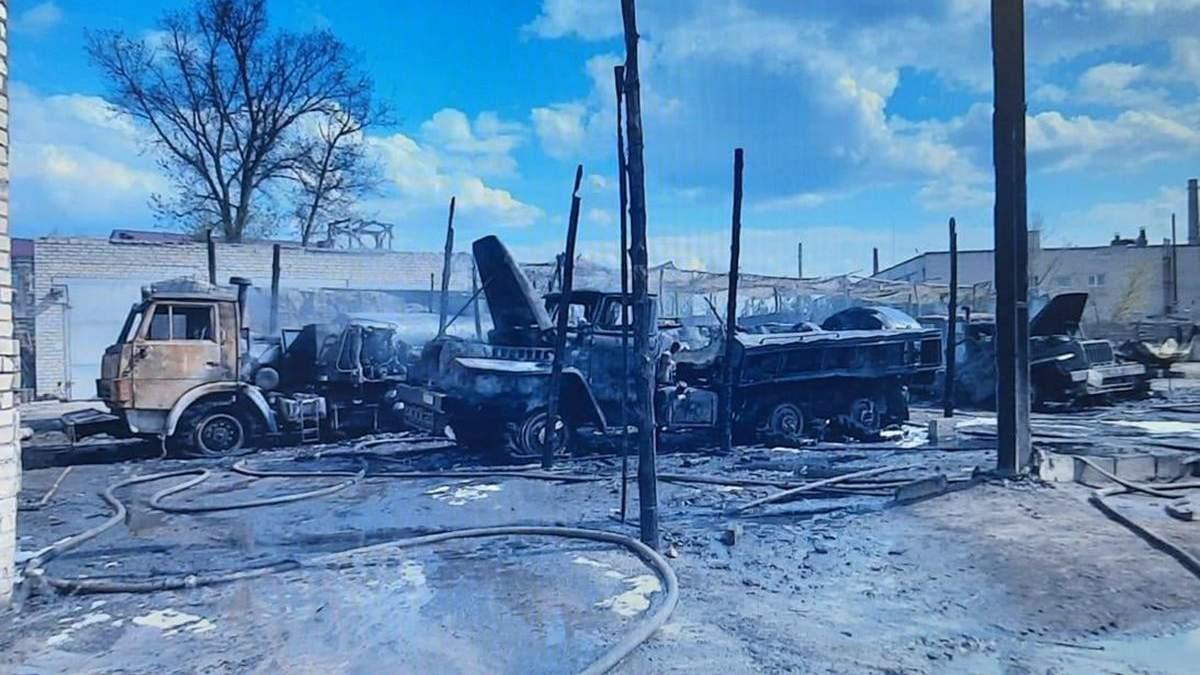 Пожежа у військовій частині на Луганщині 22.04.2021: деталі