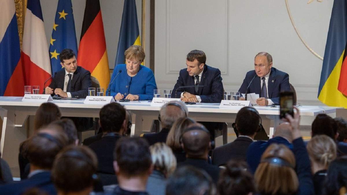 Зеленский Путину в глаза выразил принципиальную позицию по Донбассу