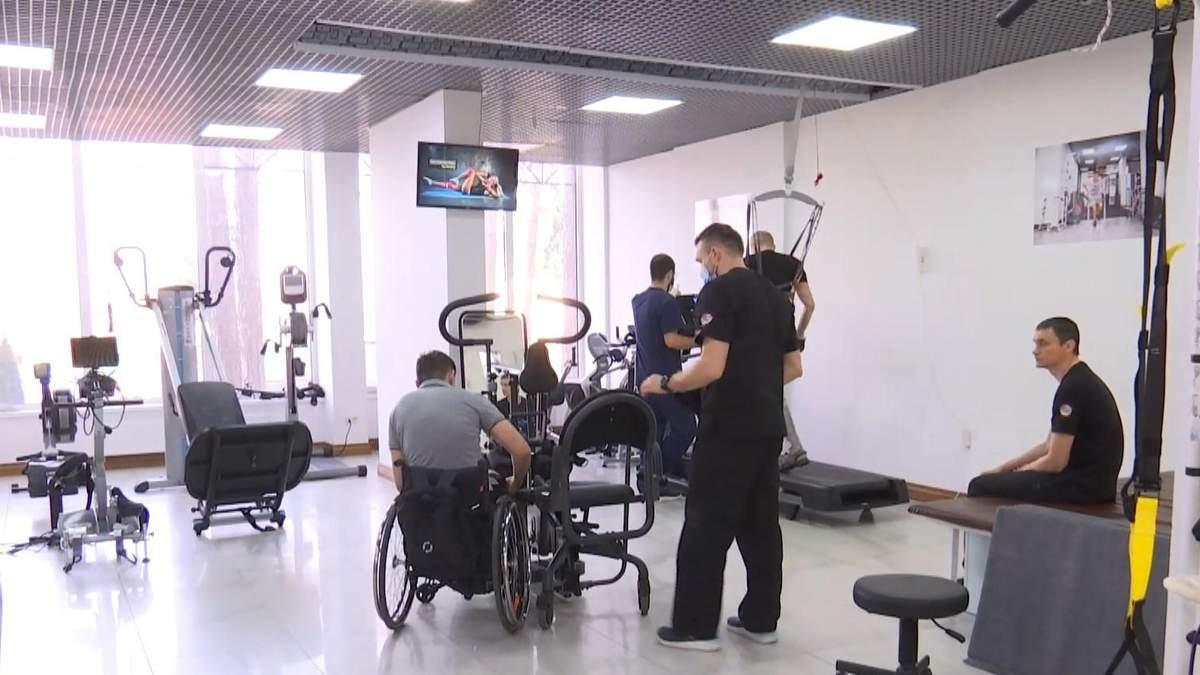 Ветераны АТО проходят реабилитацию в Киевской области: фото, видео