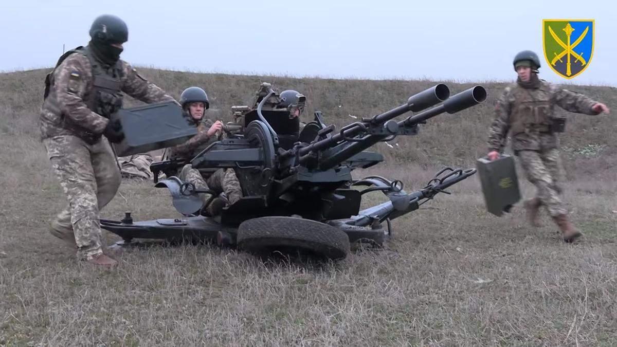 Військові ЗСУ влаштували нові навчання біля окупованого Криму