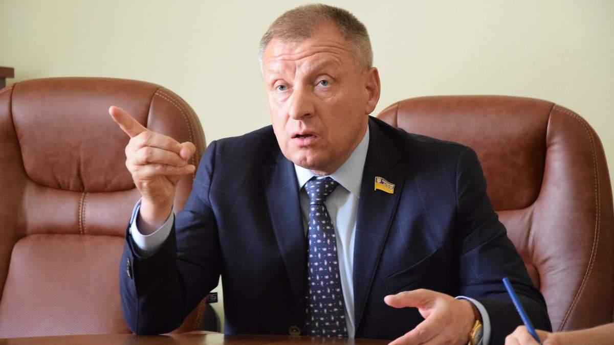 Депутат Петро Юрчишин вляпався у скандал в переписці