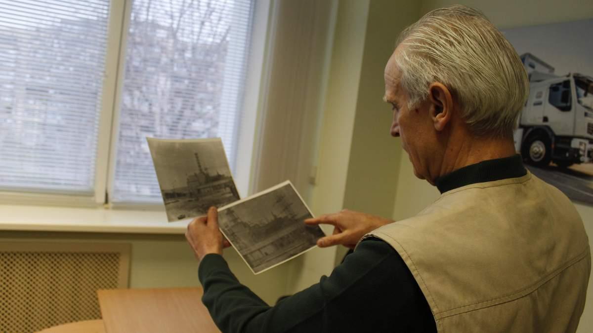 Михайло Святненко - автор перших фото зруйнованого 4 енергоблоку ЧАЕС