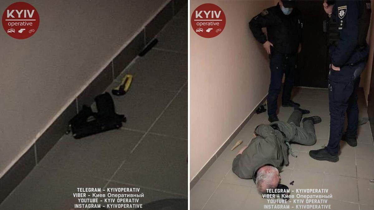 Затримали стрільця у Києві