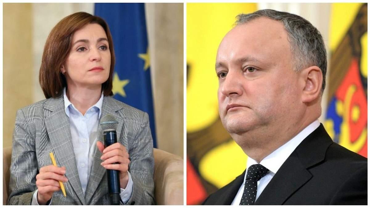 Партия Санду обратилась в прокуратуру из-за узурпации власти Додоном