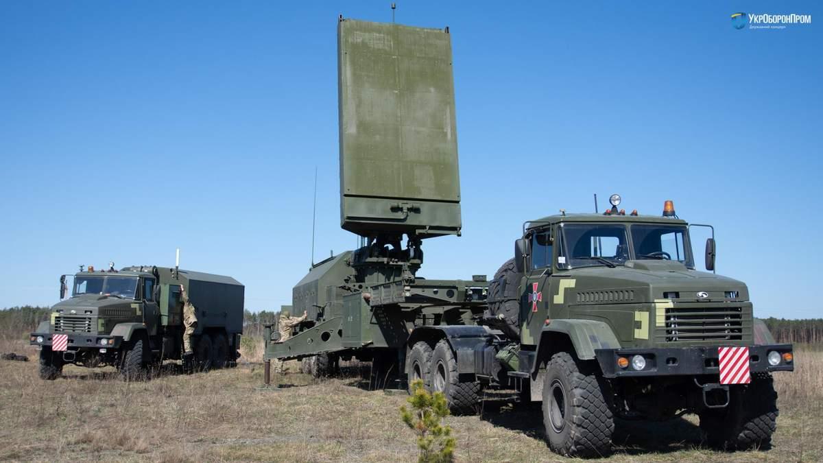 ВСУ осваивают современные контрбатарейная радары 1Л220УК Зоопарк-3