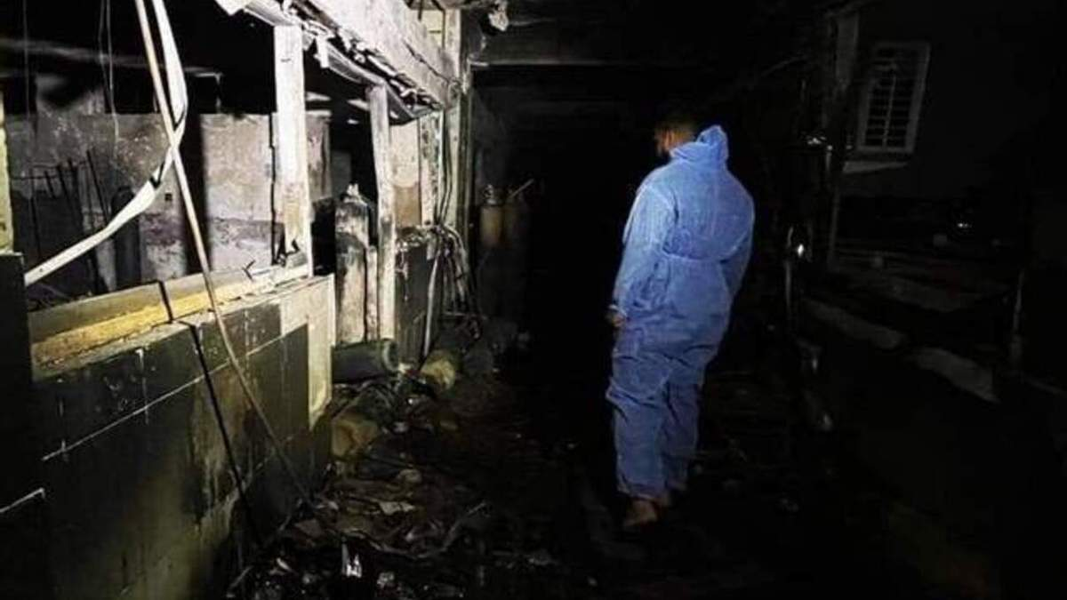 Пожежа у лікарні в Багдаді 25 квітня: кількість жертв зросла до 82