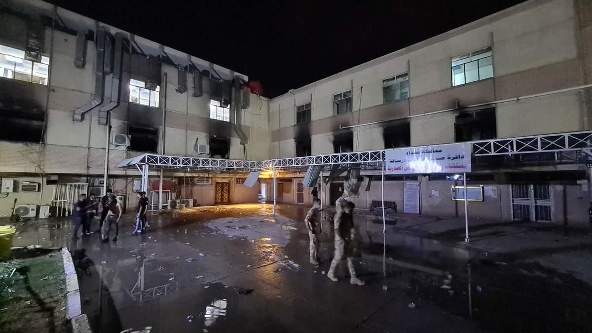 Трагедія у лікарні Багдада: главу МОЗ відсторонили з посади