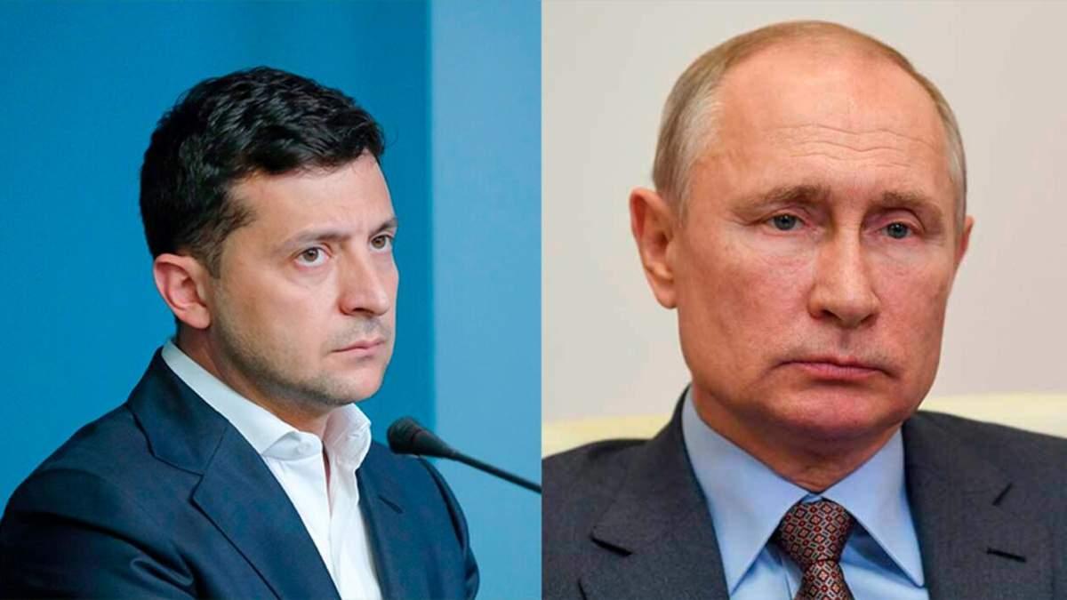 Зеленський доручив організувати переговори з Путіним