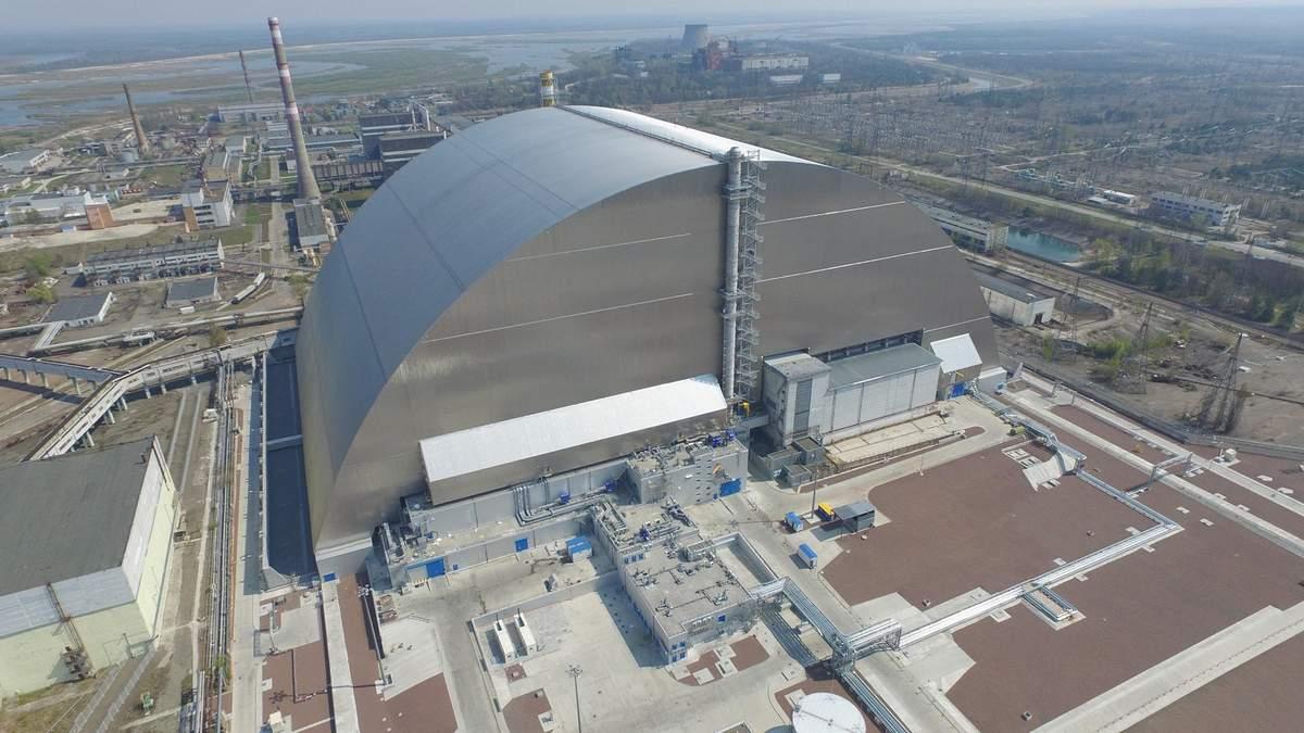 В Чернобыле ввели новое хранилище отработанного ядерного топлива
