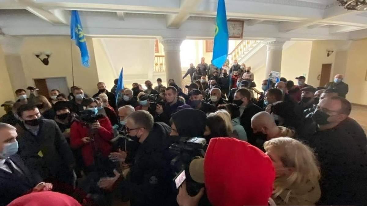 В Николаеве предприниматели протестуют против карантина: фото, видео