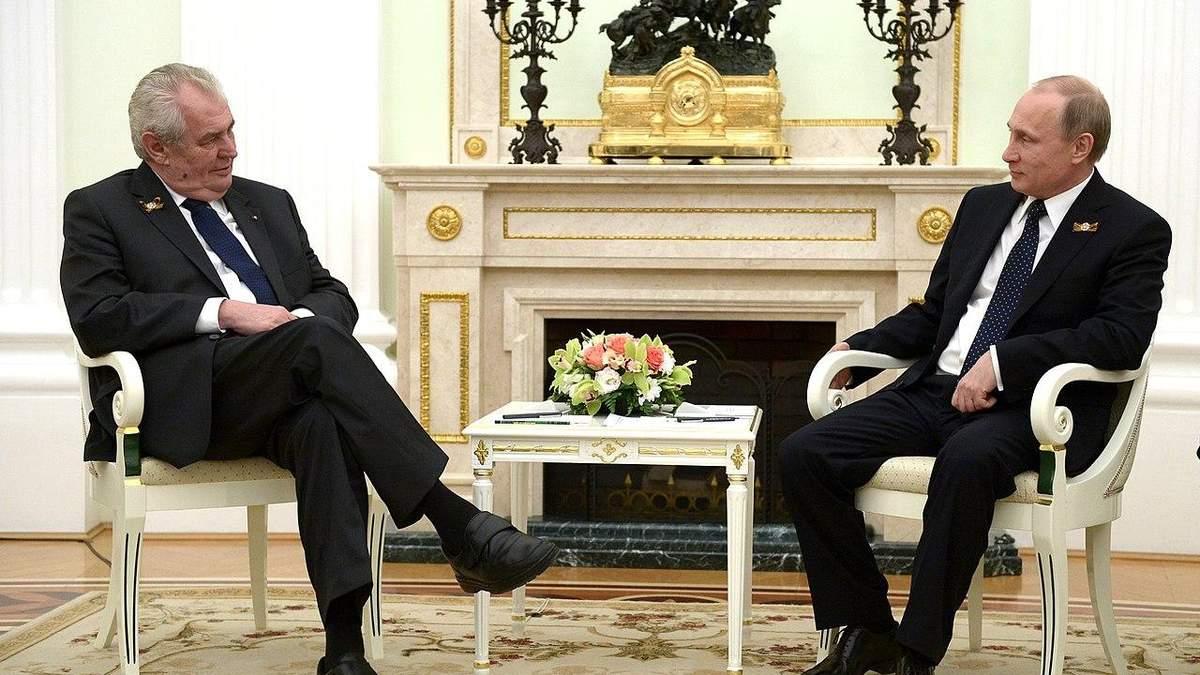 В Сенате Чехии заговорили о госизмене президента Земана