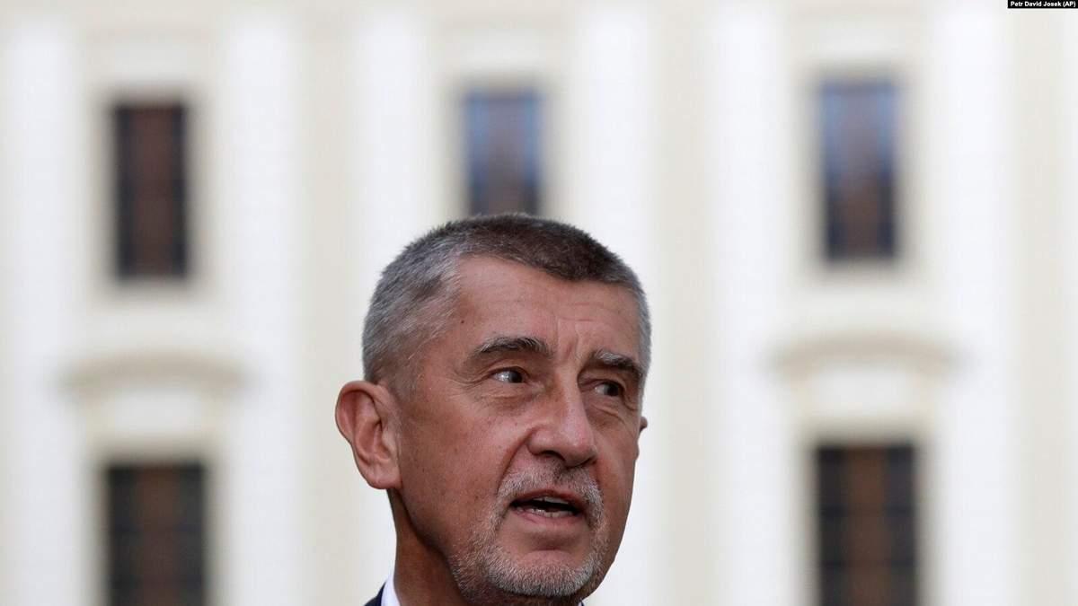Прем'єр Чехії заявив, що версія про причетність  Росії — єдина