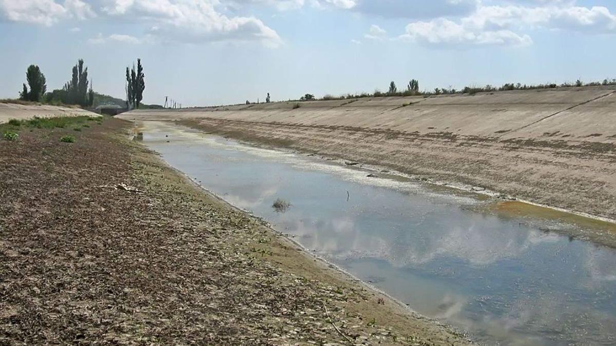Вода в Крыму оккупанты искать пресную воду под дном Азовского моря