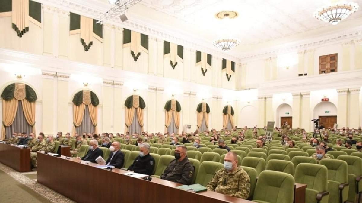 ЗСУ проводять оперативний збір керівництва за участі НАТО