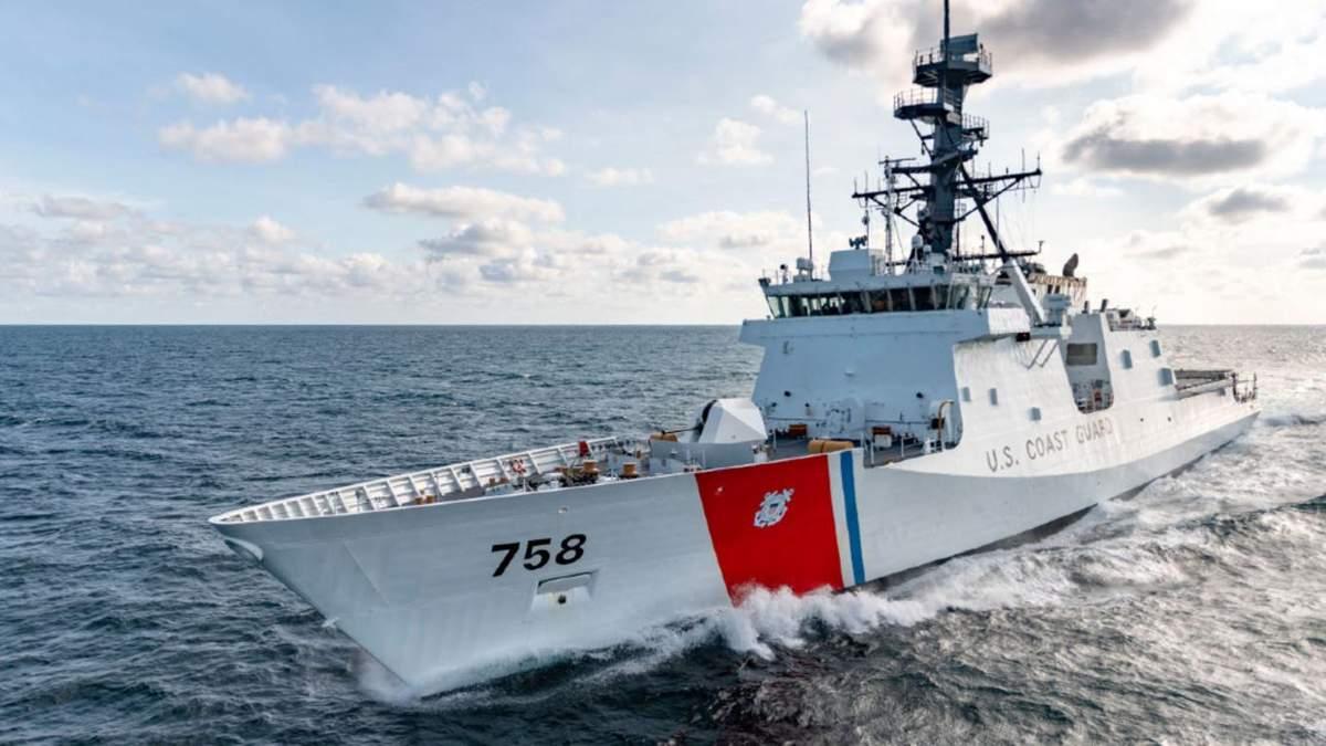 У Чорне море зайшов військовий катер США Hamilton