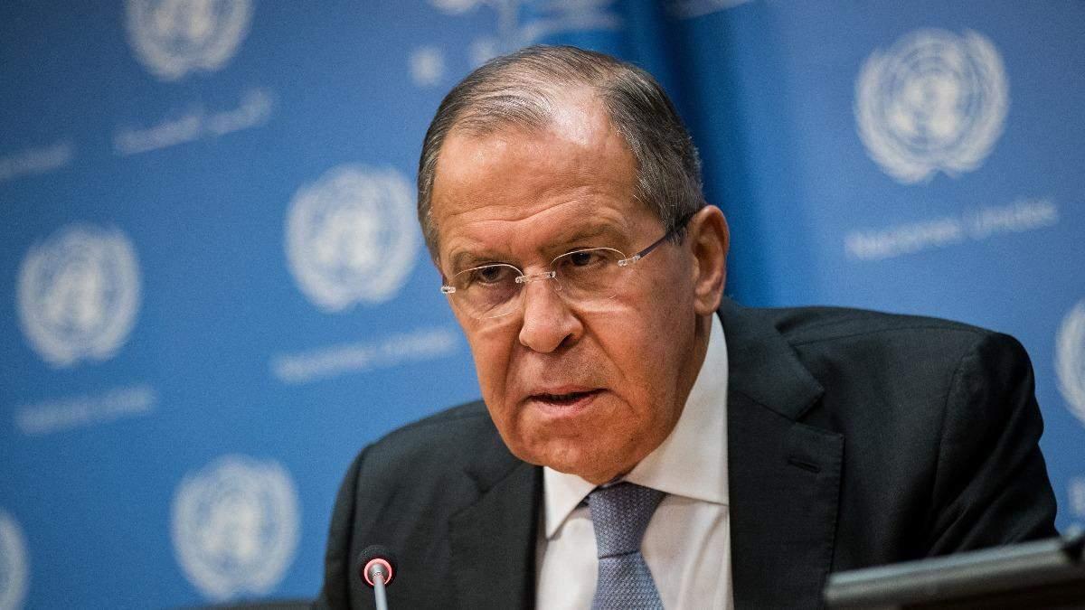 Лавров каже, що не хоче війни з Україною