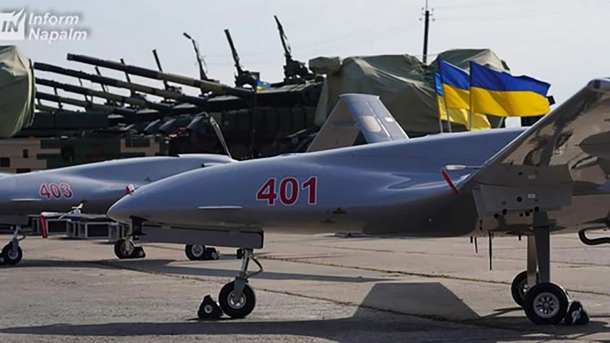 Турецькі безпілотники Bayraktar можуть стримати бойовиків на Донбасі