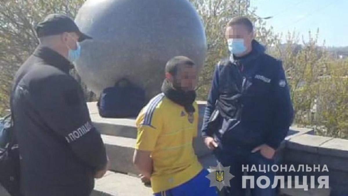 В Киеве задержали мужчину, который убил и расчленил знакомого