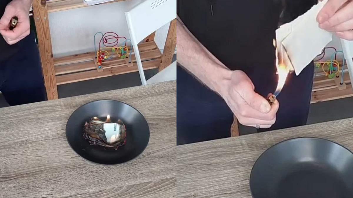 Ученый Подолян сжег свой диплом в знак протеста против Кивы: видео